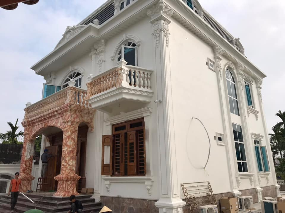 Rèm Việt Thái – Công trình nhà tân cổ điển tại Bỉm Sơn (Thanh Hóa)