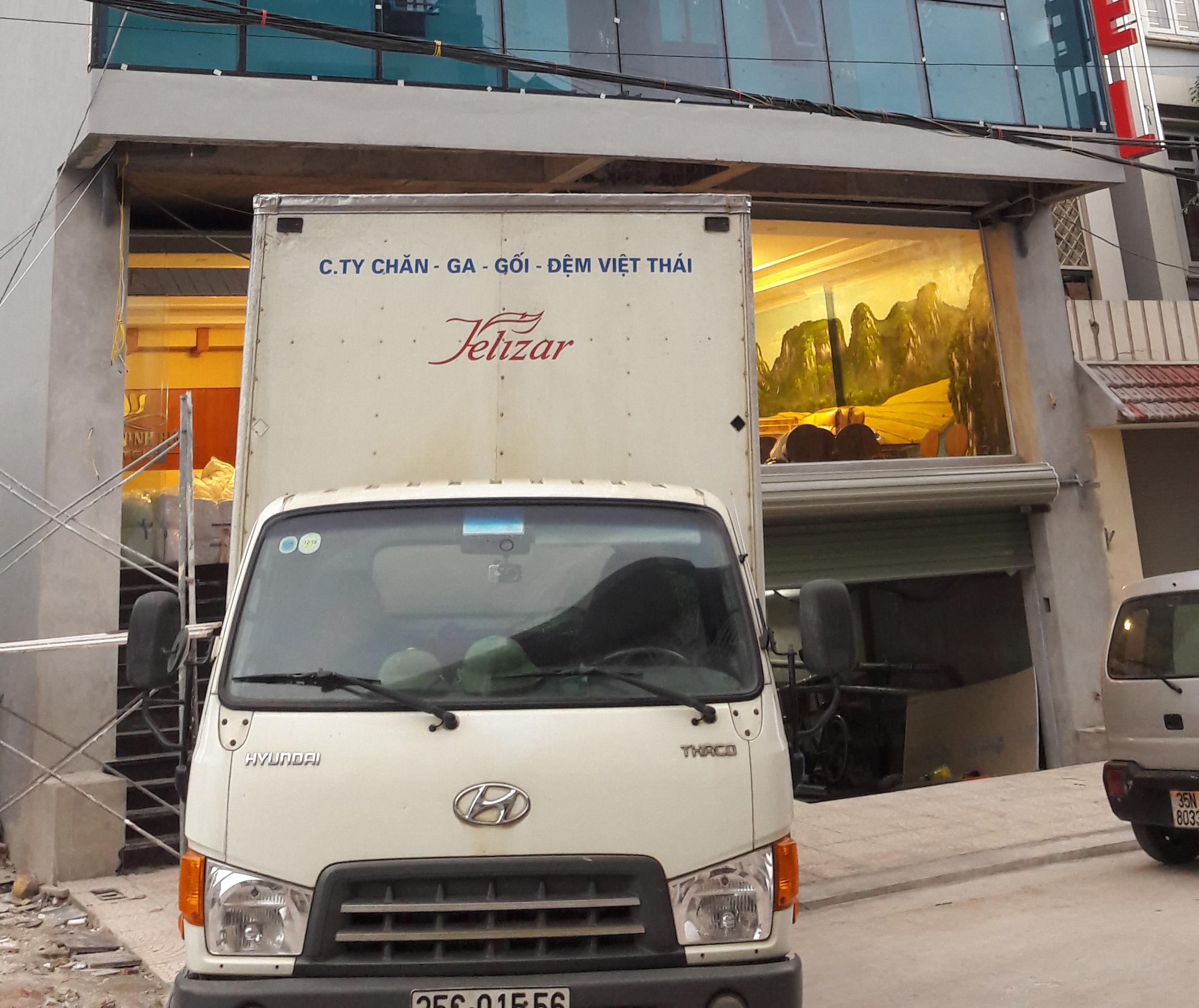 Cung cấp trọn gói hạng mục Rèm – Chăn ga gối đệm KS Sunrise Khu Tân An, TP NB