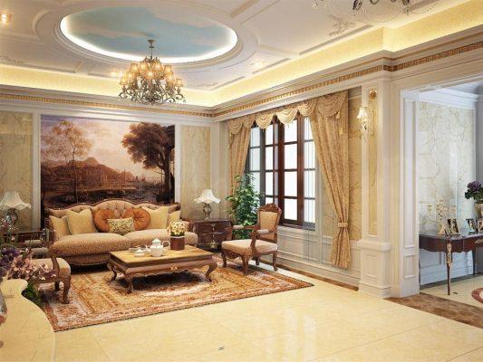 Lắp đặt Rèm cổ điển tại Ninh Bình